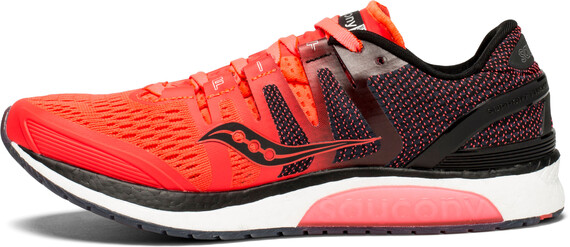 saucony Liberty ISO Shoes Women Vizipro Red/Black/Grey US 7 tjPtw9